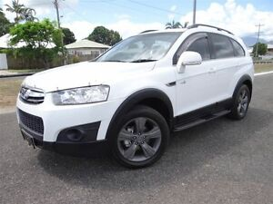 2012 Holden Captiva CG MY12 7 CX (4x4) White 6 Speed Automatic Wagon Bungalow Cairns City Preview
