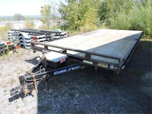 Remorque Plate Forme 18' Usagée / Used 18' Deck Over