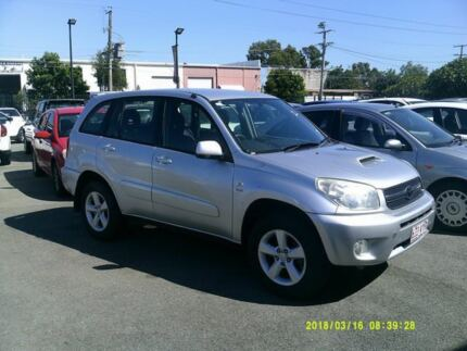 2005 Toyota RAV4 ACA23R CV Sport Silver 5 Speed Manual Wagon Coopers Plains Brisbane South West Preview