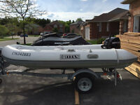 2012 Titan Dinghy w/ 20 HP Mercury 4 Stroke