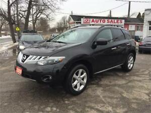 2009 Nissan Murano/Sunroof/Bluetooth/Heated Seat/AWD/Certified