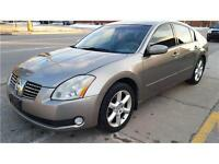 2005 Nissan Maxima 3.5 SE Automatic Leather FINANCE WARRANTY