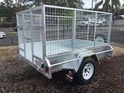 8x5  Galvanised Box Trailer with a 900mm Cage & Ramp Tanah Merah Logan Area Preview