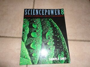 Science Power 8 Lesson Book teaching resource London Ontario image 1