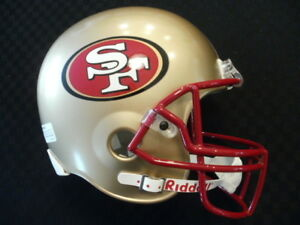 Rare 1990's Era 49ers Full Sized Replica helmet New without tags