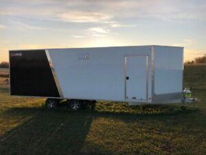2018 Alcom SnoPro All Aluminum 28f enclosed