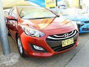 2014 Hyundai i30 GD2 MY14 Trophy Red 6 Speed Sports Automatic Hatchback Minchinbury Blacktown Area Preview