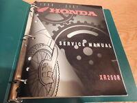 HONDA OEM FACTORY SERVICE MANUAL (1996-2004)