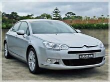 2009 Citroen C5 X7 Exclusive Silver Sports Automatic Sedan North Curl Curl Manly Area Preview