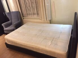 Beautiful double room near University Of Leicester & Victorian Park. £300 pm+bills