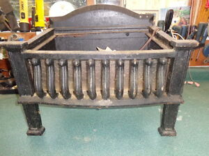Cast Iron Firebox for Heritage Home Fireplace