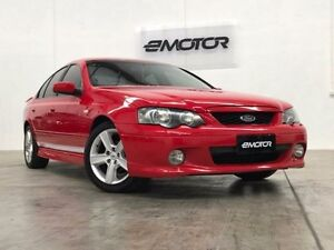 2003 Ford Falcon BA XR6 Red 4 Speed Sports Automatic Sedan Williamstown North Hobsons Bay Area Preview