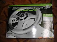 XBOX RACING WHEEL SPEEDSTER 3 FORCE SHOCK