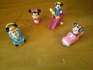Tomy Mickey and Minnie Mouse Toy Cars