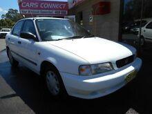 1996 Suzuki Baleno GLX White 4 Speed Automatic Sedan Edgeworth Lake Macquarie Area Preview