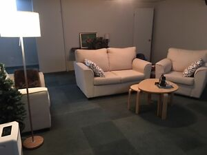 Sofa Set - Love Seat and two Arm Chairs