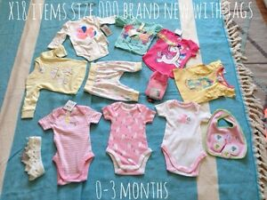 New baby girl clothes 0-3 months size 000 Inc bonds Frenchs Forest Warringah Area Preview
