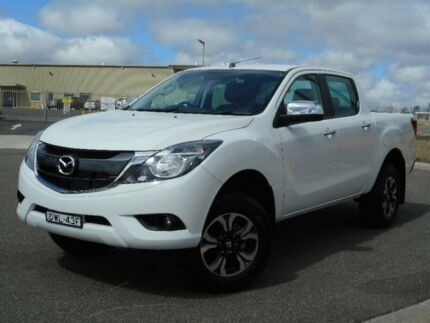 2016 Mazda BT-50 UR0YF1 GT White 6 Speed Sports Automatic Utility Run-o-waters Goulburn City Preview