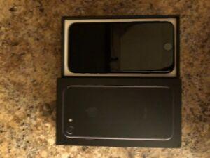 Unlocked Jet Black iPhone 7 iPhone7 128gb
