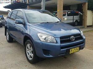 2009 Toyota RAV4 ACA33R 08 Upgrade CV (4x4) Blue 4 Speed Automatic Wagon Five Dock Canada Bay Area Preview