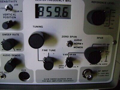 Avcom Psa-65a Portable Spectrum Analyzer