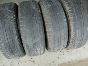 SET OF 4 265/65R17 $50 FOR ALL 4