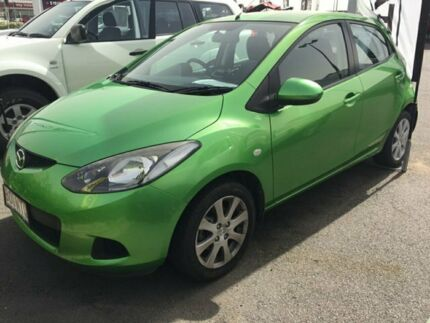 2010 Mazda 2 DE10Y1 MY10 Maxx Green 4 Speed Automatic Hatchback Garbutt Townsville City Preview