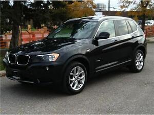 2013 BMW X3 28i X-DRIVE - PANORAMIC|360 CAMERA|1 OWNER|79,800KM