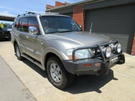 2003 Mitsubishi Pajero NP Exceed LWB (4x4) Champagne 5 Speed Auto Sports Mode Wagon Gilles Plains Port Adelaide Area Preview