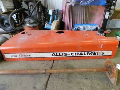 Allis-chalmers 220 Tractor Hood Tag 231