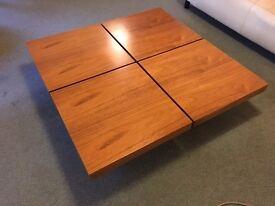 Large Scandinavian style coffee table