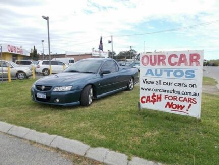 2007 Holden Commodore Ute VZ SVZ  Extended CAB Blue Automatic Utility Maddington Gosnells Area Preview