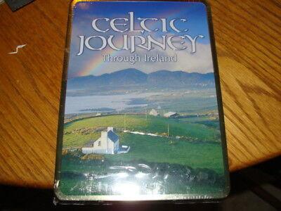 CELTIC JOURNEY THROUGH IRELAND 3 DVD BOX SET IN DECORATIVE TIN / SEALED