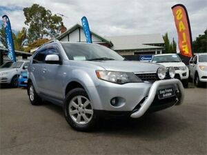 2009 Mitsubishi Outlander ZG MY09 Activ (5 Seat) 6 Speed CVT Auto Sequential Wagon Mount Hawthorn Vincent Area Preview