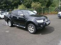 Mitsubishi L200 Double Cab Di-D Barbarian 4Wd 176Bhp DIESEL MANUAL BLACK (2012)