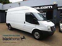 2012 Ford Transit T350 2.2TDCi 125ps LWB High Roof E/Windows Diesel white Manual