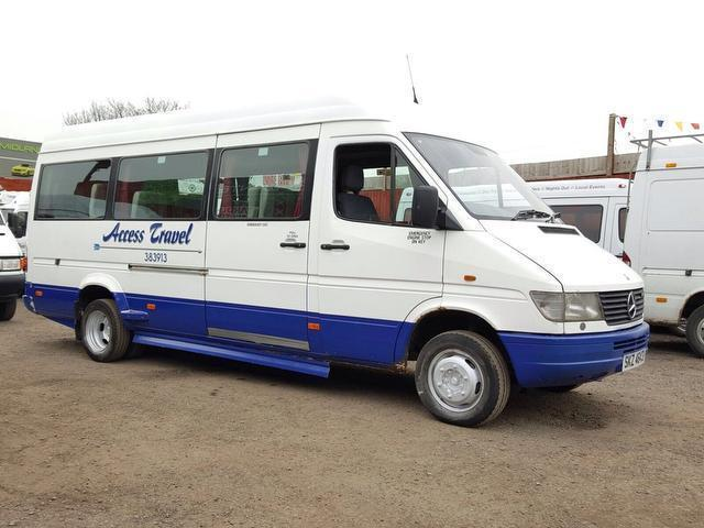 ee6fc66d35 Mercedes-Benz Sprinter 412D LWB 17 SEATER MINIBUS TWIN WHEELS