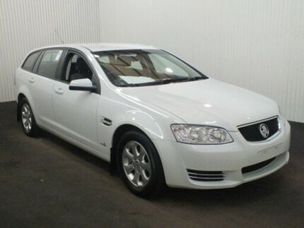 2012 Holden Commodore VE II MY12 Omega Heron White 6 Speed Automatic Sportswagon Salisbury Plain Salisbury Area Preview