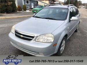 2005 Chevrolet Optra LS station wagon