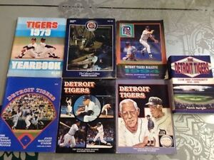Rare Collection of Vintage Detroit Tigers Play Books