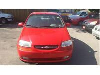 2005 Chevy AVEO SEDAN Manual SAFETY AND ETESTED