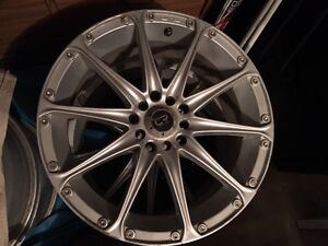 Four 17in Core Racing rims for sale