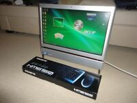 "Acer Aspire 23"" All In One PC, TV Freeview recorder, WiFi Built-In"
