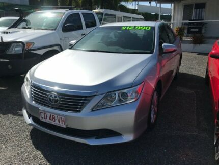 2013 Toyota Aurion GSV50R AT-X Silver 6 Speed Sports Automatic Sedan Winnellie Darwin City Preview