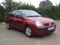 2003 Renault Clio 1.2 5 Door hatchback low milage !