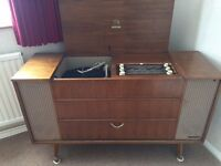 Record Player - Dynatron Richmond Stereophonic Radio-Gramophone Model No. RG34