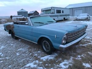 1966 Ford Galaxie Convertible for trade want 1963