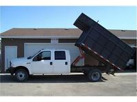 2003 FORD SUPERDUTY F450 DRW XL 2-WD DUMP BOX 287K ONLY $10,900.