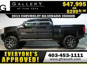 2013 CHEVY LTZ DIESEL LIFTED *EVERYONE APPROVED* $0 DOWN $299/BW