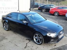 AUDI A4 2.0 TDI SE TECHNIK AUTO 141 BHP 4DOOR SALOON ( FIA (black) 2013